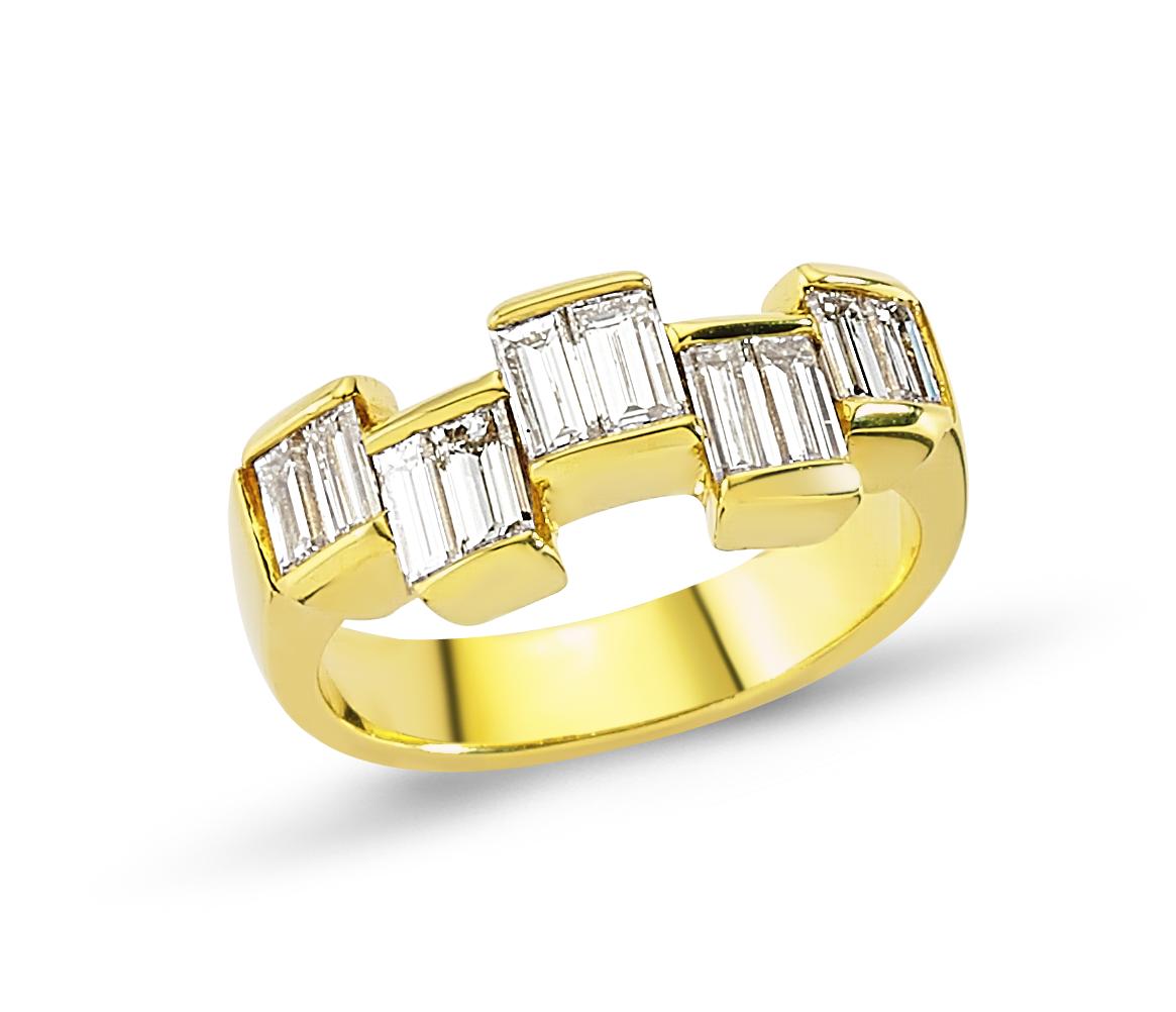 Sarı Altın Baget Alyans 1000352