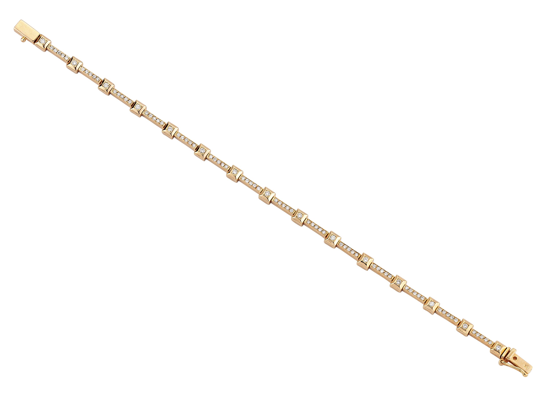 Su Yolu Pembe Altın Bileklik - 2000797