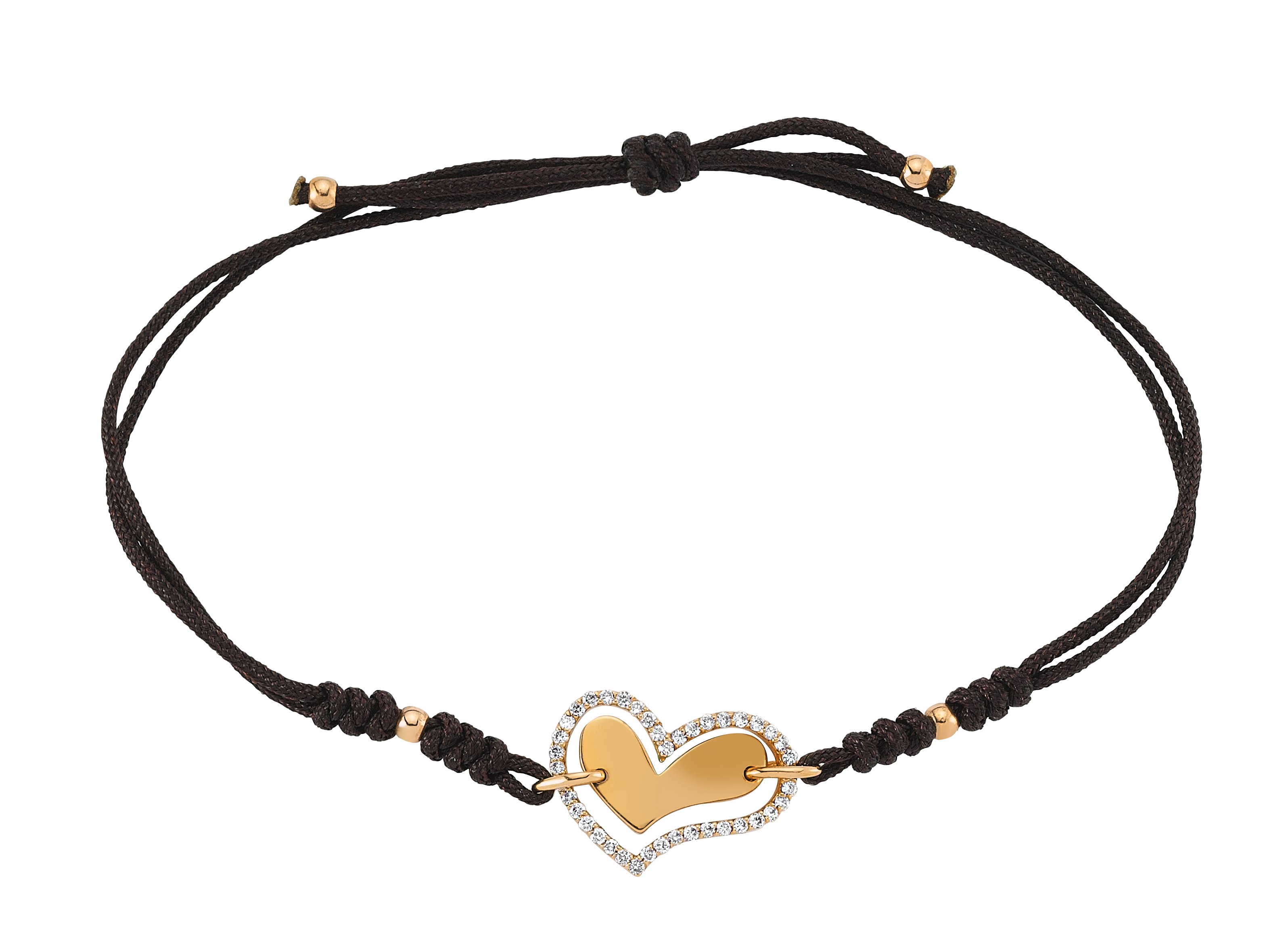 Kalpli Pırlanta Altın Bileklik - A018121