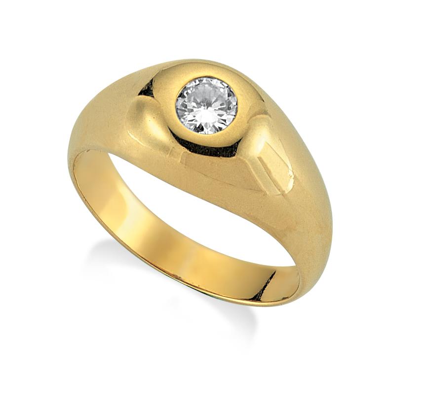 Tektaş Erkek Yüzüğü
