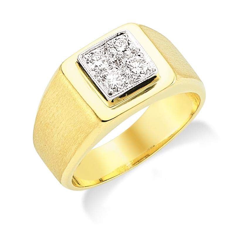 Pırlantalı Altın Yüzük - 6002404