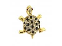 Kaplumbağa Pırlanta Broş