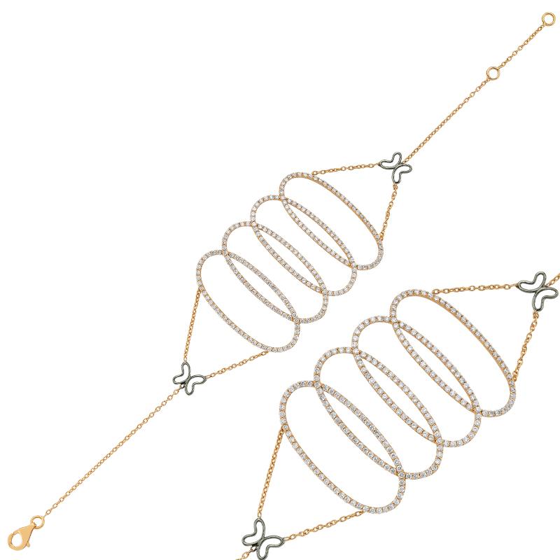 Pırlanta Altın Bileklik - A017891