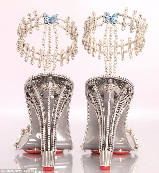 Pırlantalı Ayakkabı