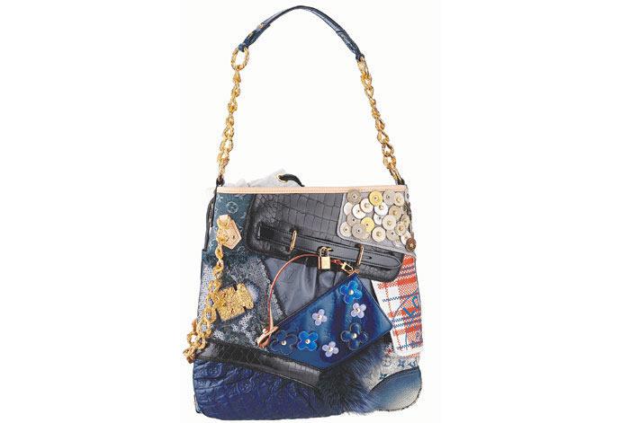 LV patchwork çanta